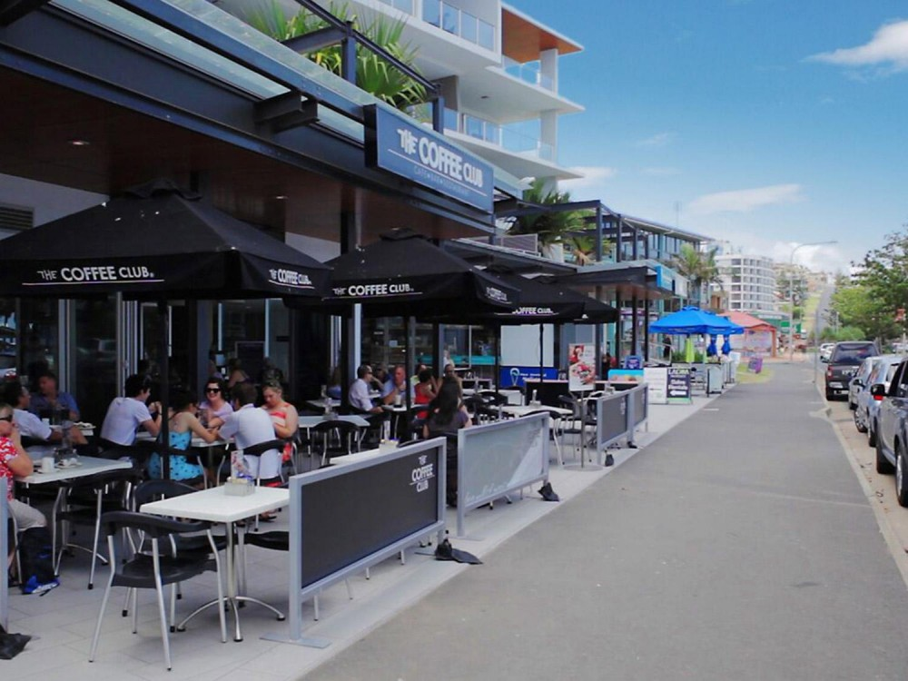 The Coffee Club – On the Esplanade Yeppoon Location Business For Sale #9185